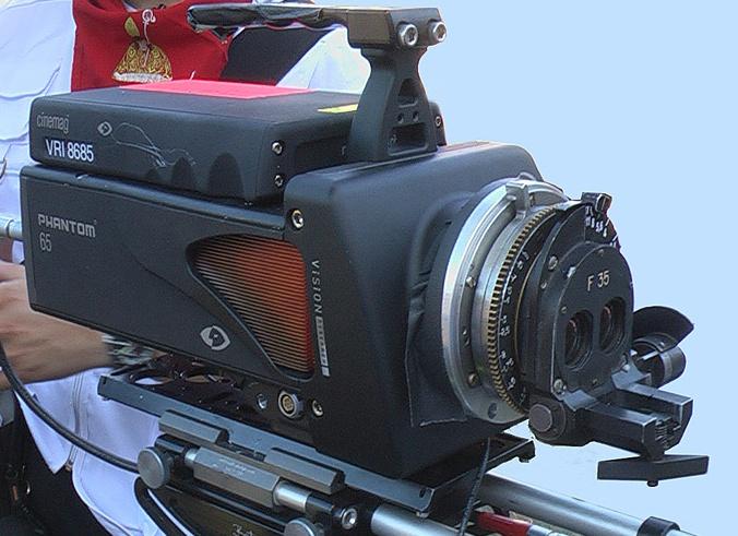 Camera Phantom + optique Zepar Phanto10