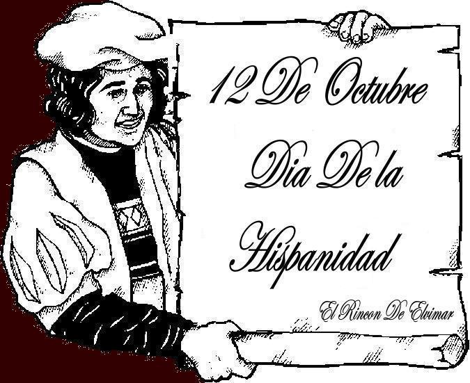 12 D`OCTUBRE             *    DIA DE LA HISPANIDAD   * Maniel10