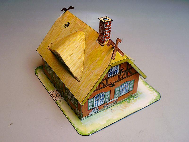 """Werbemodell """"Haus mit Reetdach"""" von Auhagen 610"""