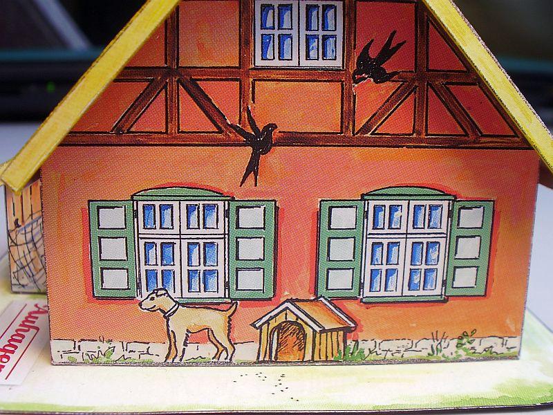 """Werbemodell """"Haus mit Reetdach"""" von Auhagen 910"""