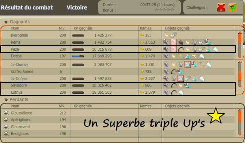 """Encore un exploit, made in """"LE Cercle !"""" Triple10"""