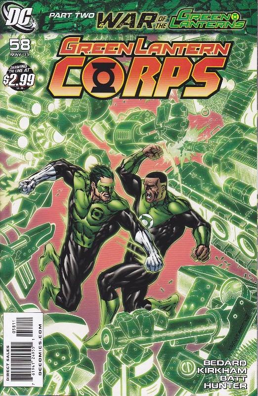 GREEN LANTERN CORPS Glc58-10