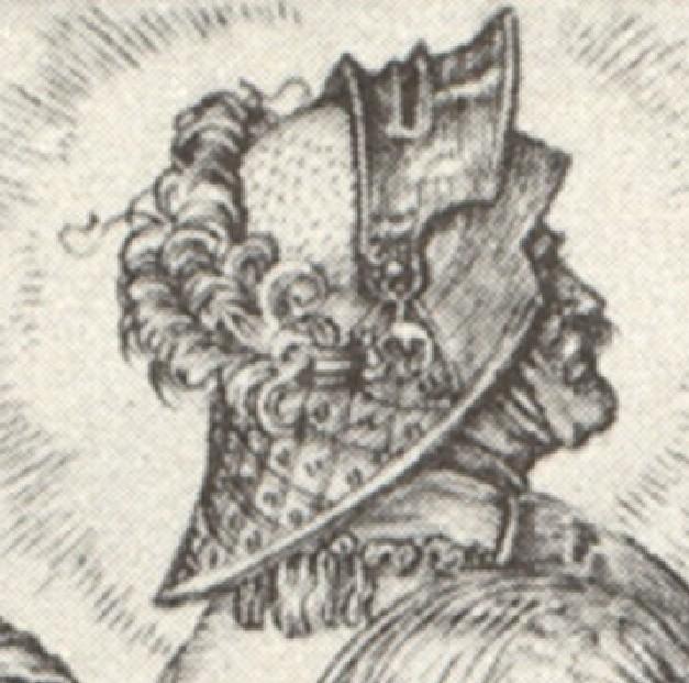 les casques peints XVe 1505-111