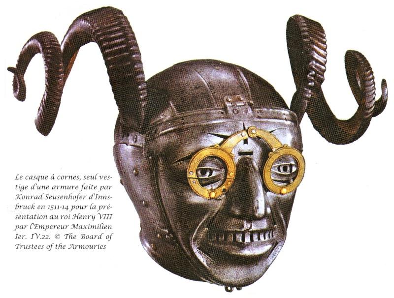 les casques peints XVe 1511-110