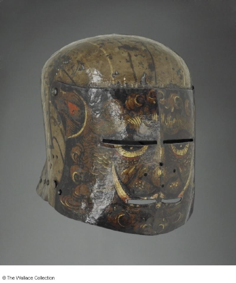 les casques peints XVe Dabut_10