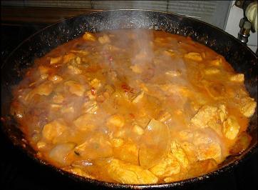 poulet au curry  Curry210