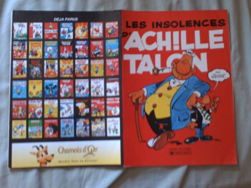 BD publicitaires Achille Talon Pict0218