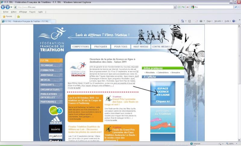 licence 2011 Fftri11
