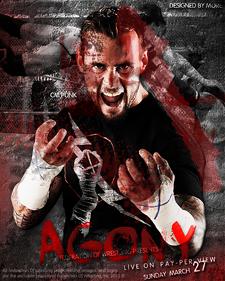 Plus belle affiche de la fédération virtuelle Agony10