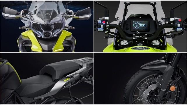 QJ Motor SRT 500 modèle 2021 du Benelli TRK 502X ? Benell31