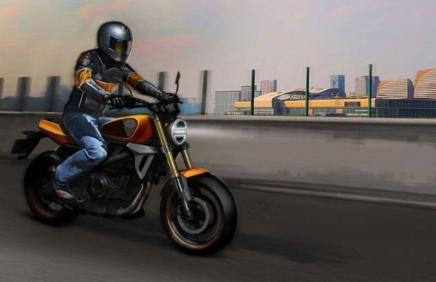 Une Harley-Davidson produite par le chinois Qianjiang ! Harley13