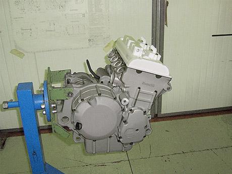 Benelli Quattro 600RR sur Papier Motore10