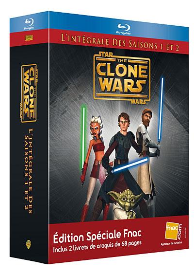 Clone Wars Coffret FNAC Saison 1 et 2 50518811