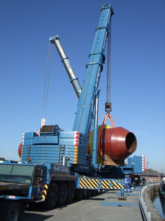 SARENS : LTM1500 + AC700 lèvent 226 tonnes ! Dscf0614