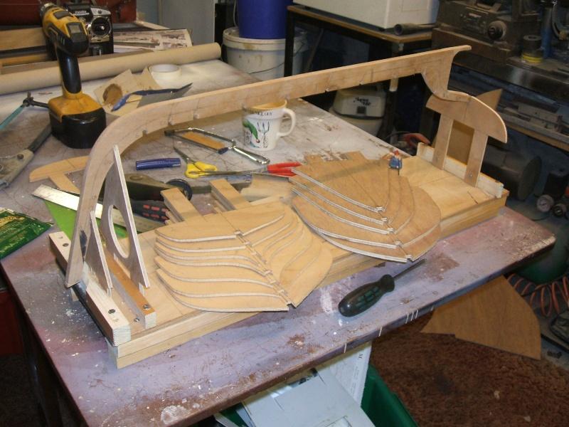 Scratch build of a Shrimper 310