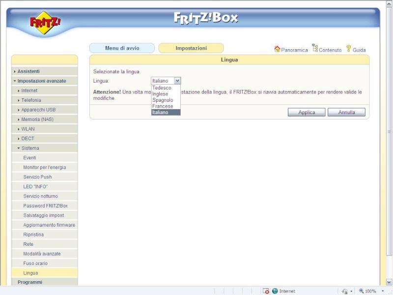 fritz 7270 v3 (rosso) fw 74.04.81 internazionale e Huawei E1750 Setup10