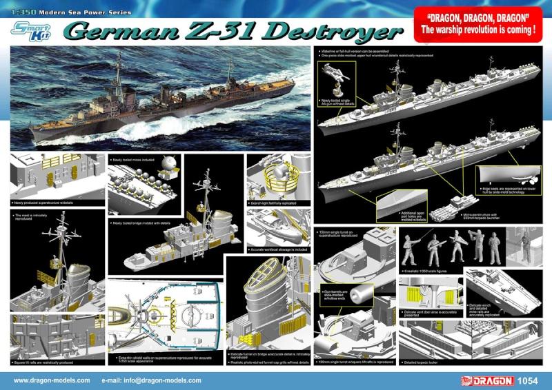 Z-31 DRAGON 1/350 1054po10