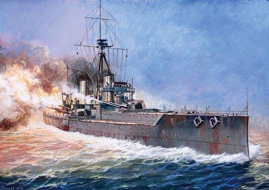 """Zvezda au 1/350 """"HMS Dreadnought"""" 13084010"""