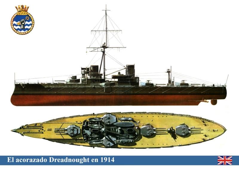 """Zvezda au 1/350 """"HMS Dreadnought"""" Dreadn10"""
