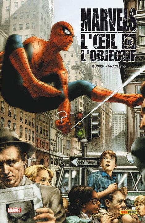 Marvels : L'Œil de l'objectif [Kurt Busiek, Jay Anacleto] Marvel10