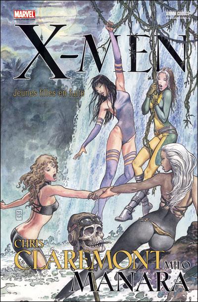 X-Men : Jeunes filles en fuite [Chris Claremont, Milo Manara] X-men_11