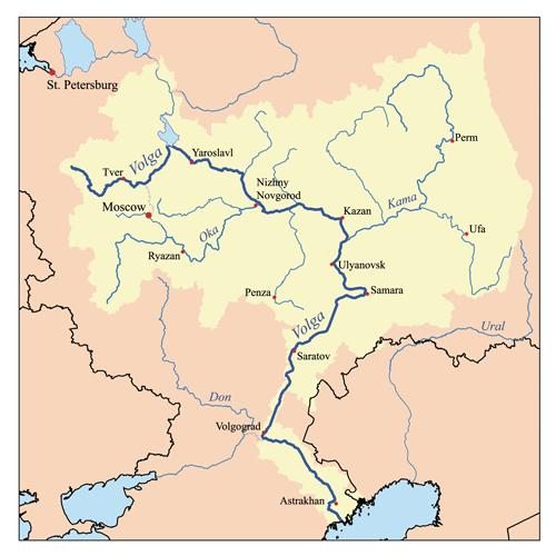 Fleuve la Volga (Russie Européenne) Volga10