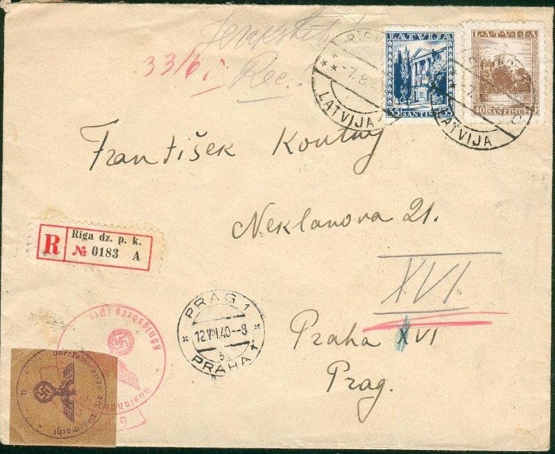 lettonie occupation allemande Ostlan12