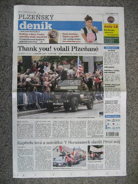 GOD BLESS THE PEOPLE OF THE CZECH REPUBLIC!  2010