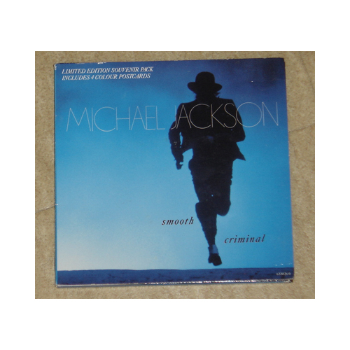 45T Smooth criminal - Limited edition souvenir pack UK Smooth10