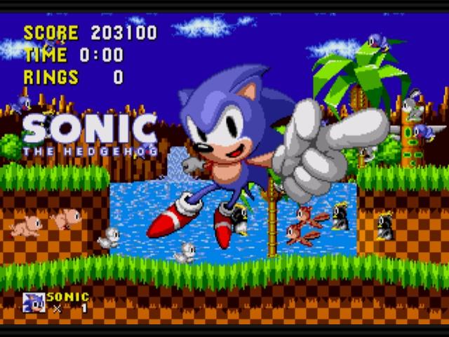 Les Jeux Sonic The Hedgehog Megaco16