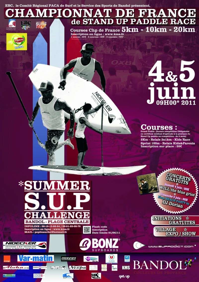 CHAMPIONNAT DE FRANCE DE SUP RACE /// SUMMER SUP CHALLENGE /// 4-5 JUIN 2011 - BANDOL - VAR 83 80-12011