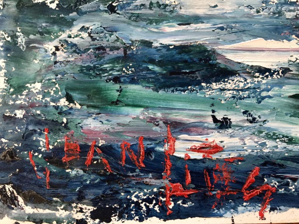 2 tableaux huile sur papier du même artiste 28bf1a10