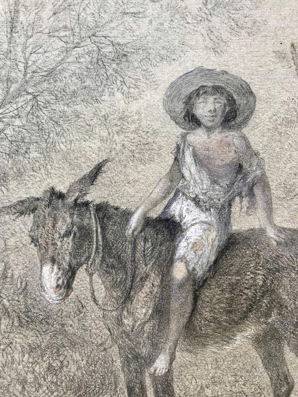Ancien dessin signé Jean Adolphe beaucé 60fd2210