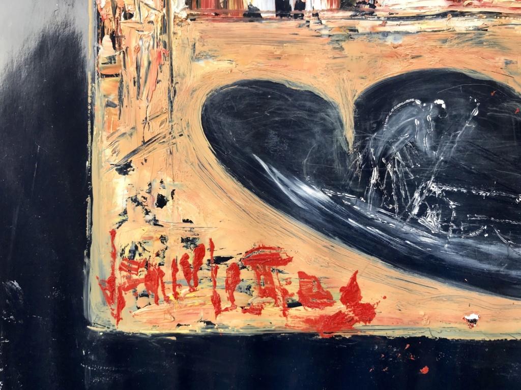 2 tableaux huile sur papier du même artiste E4bebb10