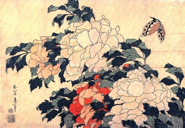 "Hokusai: ""le fou de la peinture"" Pivoin10"