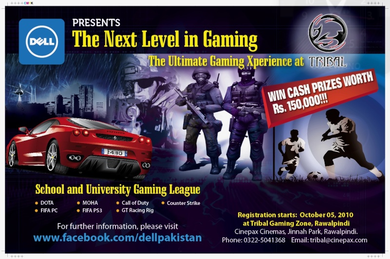 Dell Presents Tribal gaming tourney!! Poster10