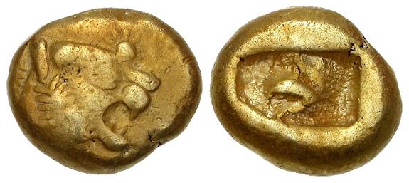 Vers l'origine de la monnaie frappée 48293q10