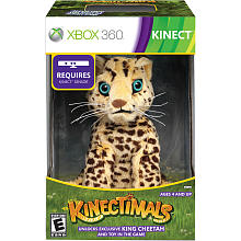 Kinectimals Limited Edition with King Cheetah for Xbox 360 Ptru1-11