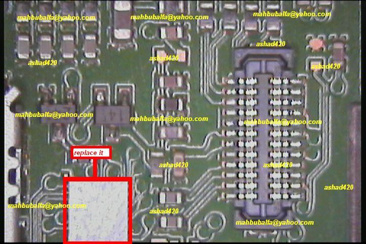 full reparaciones nokia 2220 Keypad10