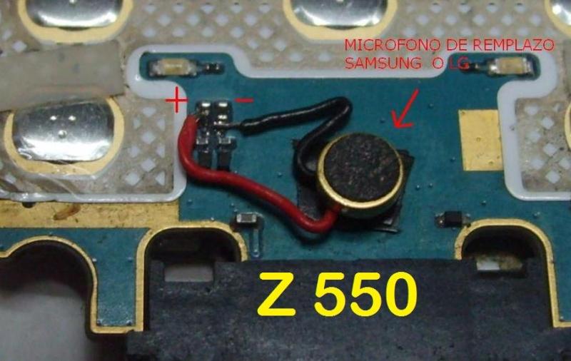 reparaciones para sony ericsson Z550_r10