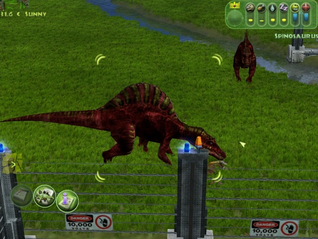 Spino Pair up [Even shows the Leader!] and same species Carnivores don't fight Simjp_16