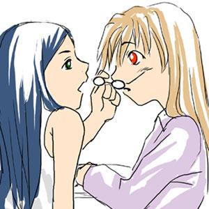 Post Shizuru and Natsuki [ShizNat] fanart, images, EVERYTHING! - Page 3 Glasse10