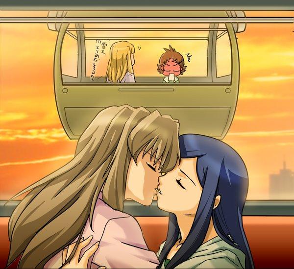 Post Shizuru and Natsuki [ShizNat] fanart, images, EVERYTHING! - Page 3 Kiss_011