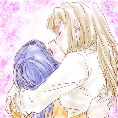 Post Shizuru and Natsuki [ShizNat] fanart, images, EVERYTHING! - Page 3 Kiss_012