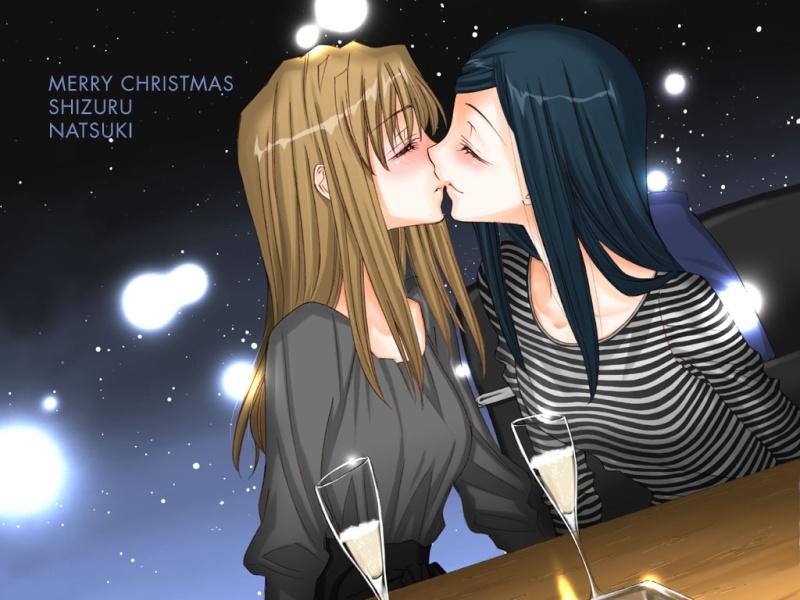 Post Shizuru and Natsuki [ShizNat] fanart, images, EVERYTHING! - Page 3 Kiss_015
