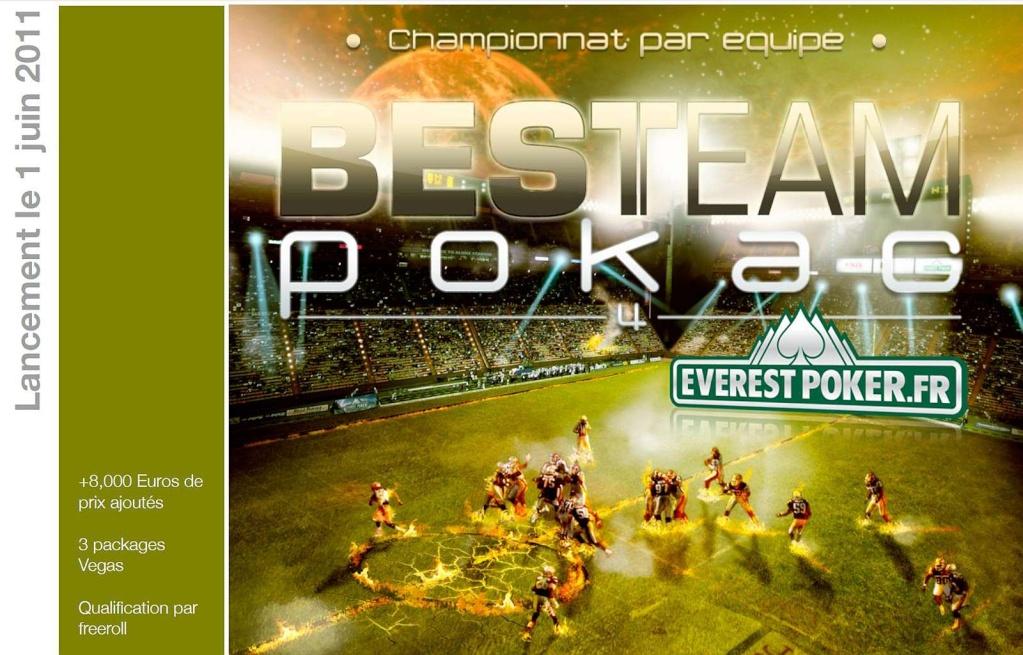 Le Championnat par équipe saison IV By EVEREST POKER 3 Packages VEGAS !!! Bestea10