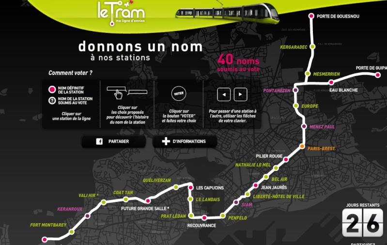 Noms des stations du futur tram de Brest Tram_b10
