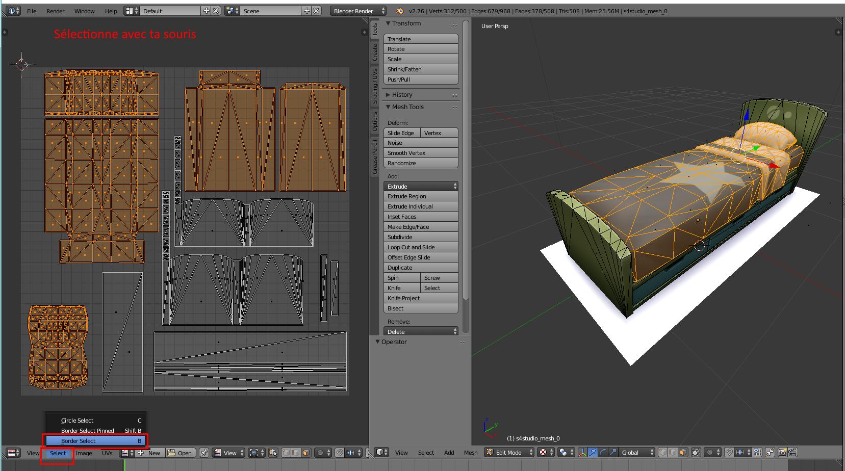 [Sims 4/Blender - Création d'un mesh] Aide à la création d'un nouveau mesh 3D 220