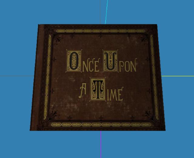 Commande Sims 3 de création d'un livre objet OUAT Livre10