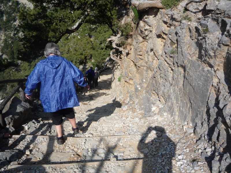 Greece, Island of Crete, Paleochora, The Samaria Gorge Walk 13511